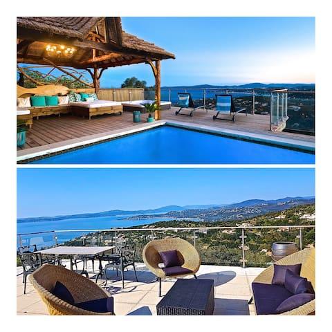 Villa 5*. Heated pool. Jacuzzi heated all year