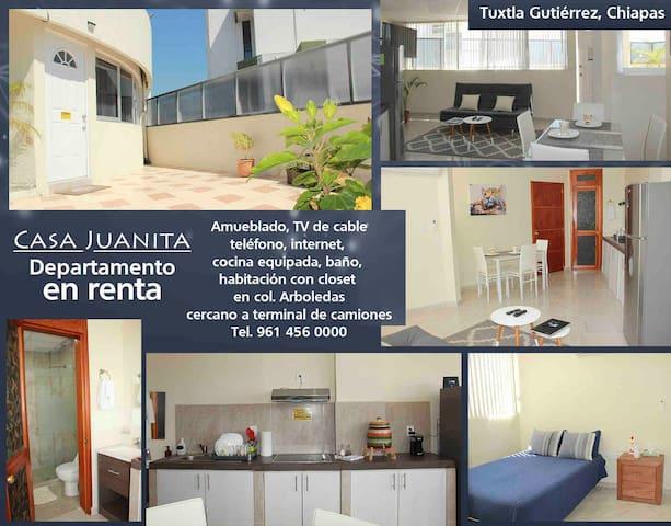 Tuxtla Gutiérrez 的民宿