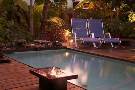 Old Town - Room Opens to Private Pool and Garden