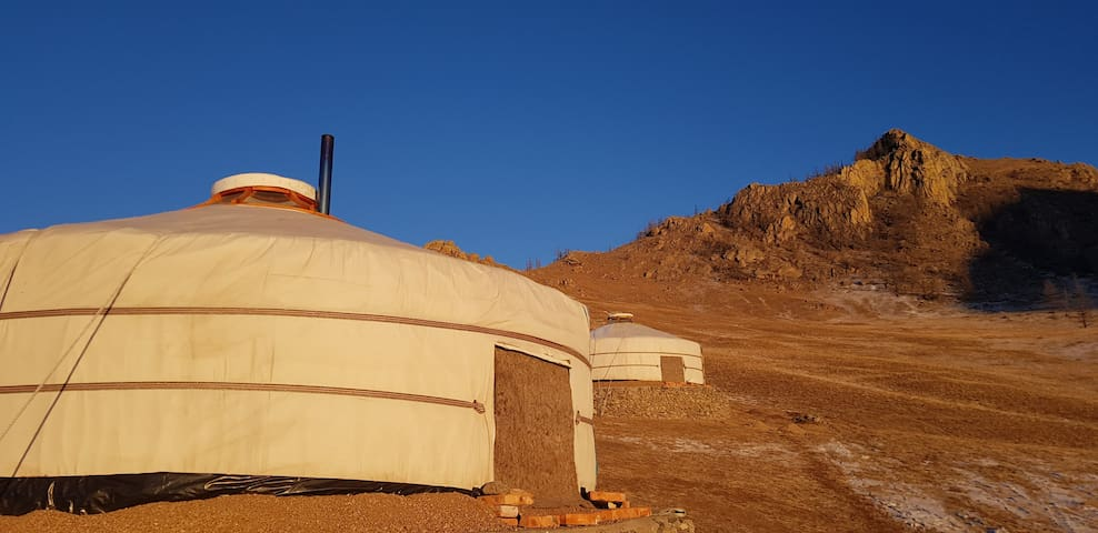 Gers/Yurt for rent in the NP Terelj, Mongolia