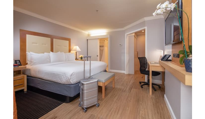 The Millwood, Deluxe Junior King Suite
