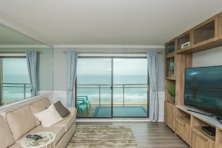 Oceanfront 2 Bedroom Modern Beach Condo w/ Pool!