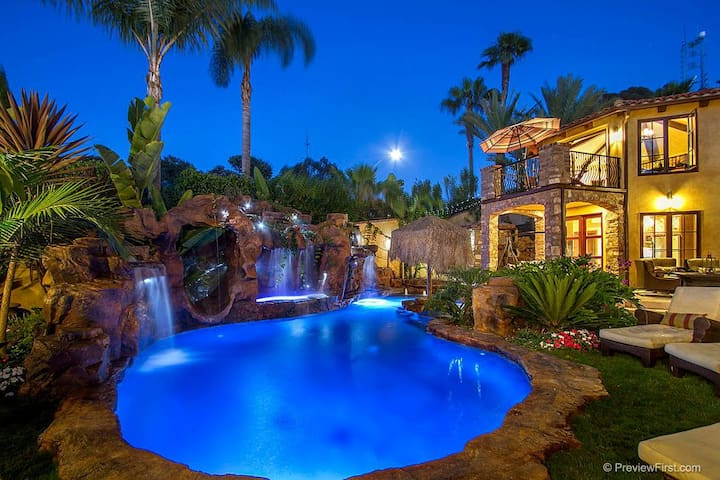Luxury Tropical Private Guesthouse in La Jolla