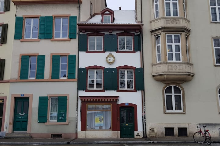 Charming little room in the heart of Basel