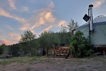 Mountain View Eco Yurt on Basalt Mountain