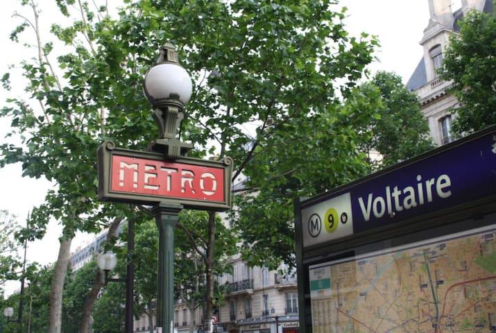 Paris Little Voltaire