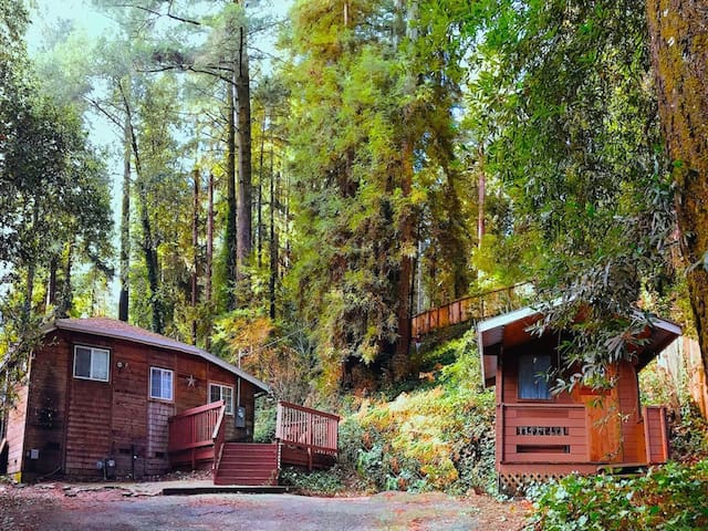 Charming Cabin and Cottage - Hot Tub, Dog-Friendly