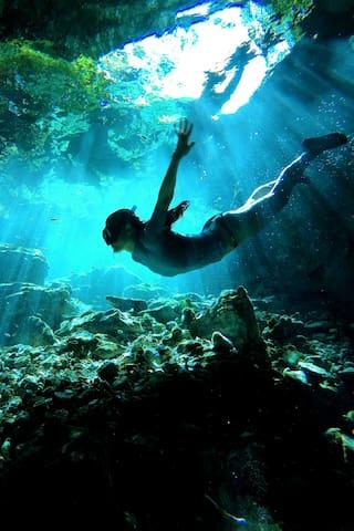 太平洋的体验