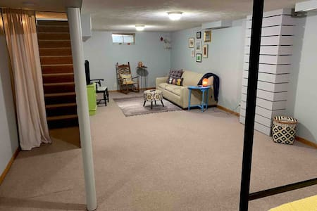 Basement Apartment for Extended Stay