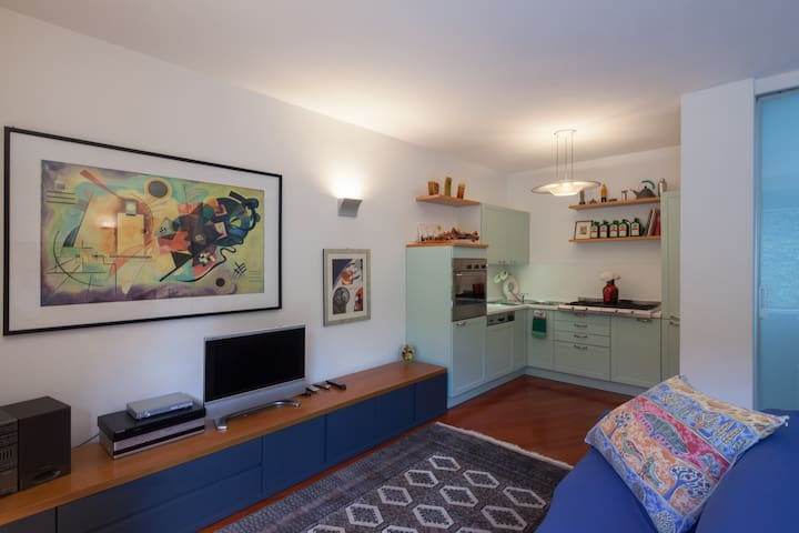 Apartment in modern villa