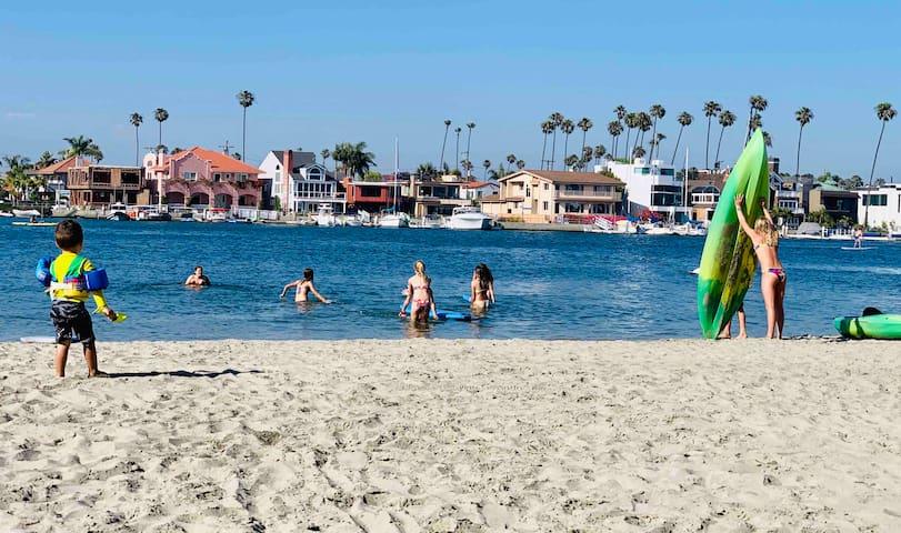 Beach Getaway, 2 Free Kayaks 2 SUP Steps to Sand.