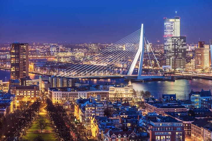 Rotterdam - walking distance from city centre