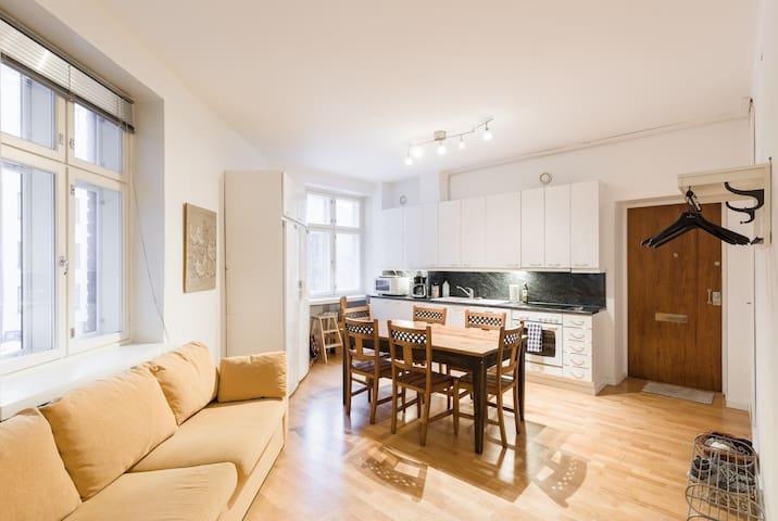 Cozy super central 60m2 family apartment, Netflix