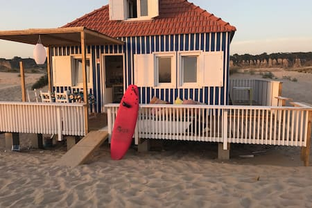 Blue Cabin at the Beach