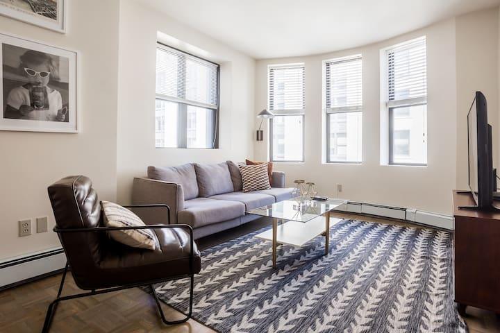 Elegant 2BD/2BA furnished apartment in FiDi