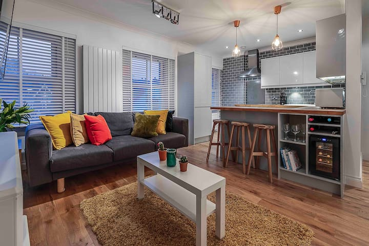 Lux 3 beds-5guests-12min to Big Ben/free parking