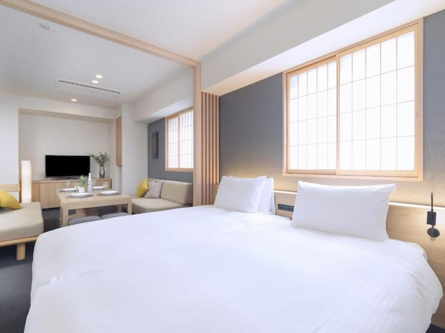 Apartment+sofa bed/4mins walk->Akasaka station