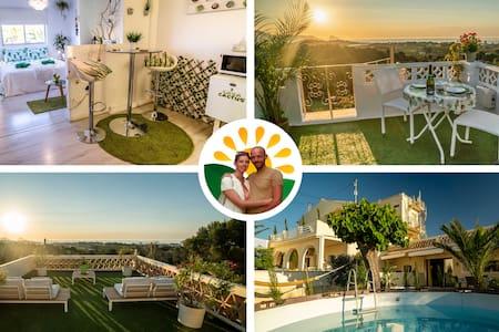 Casa Cactus🌵 Romantic ❤ 360 view Rooftop Eco Loft