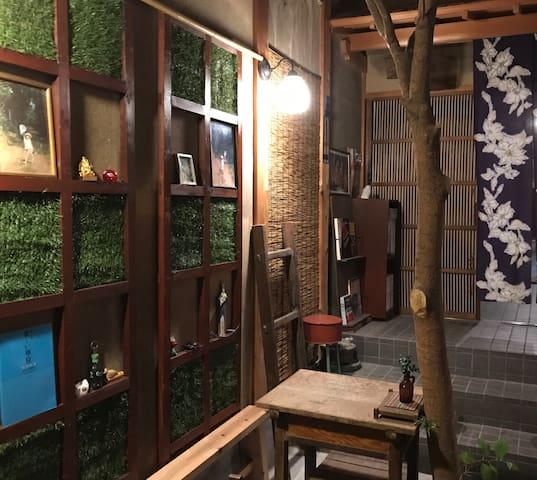 西尾、小京都の古民家風の宿
