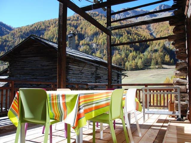 Agréable Chalet 4* Sauna, station accessible a ski