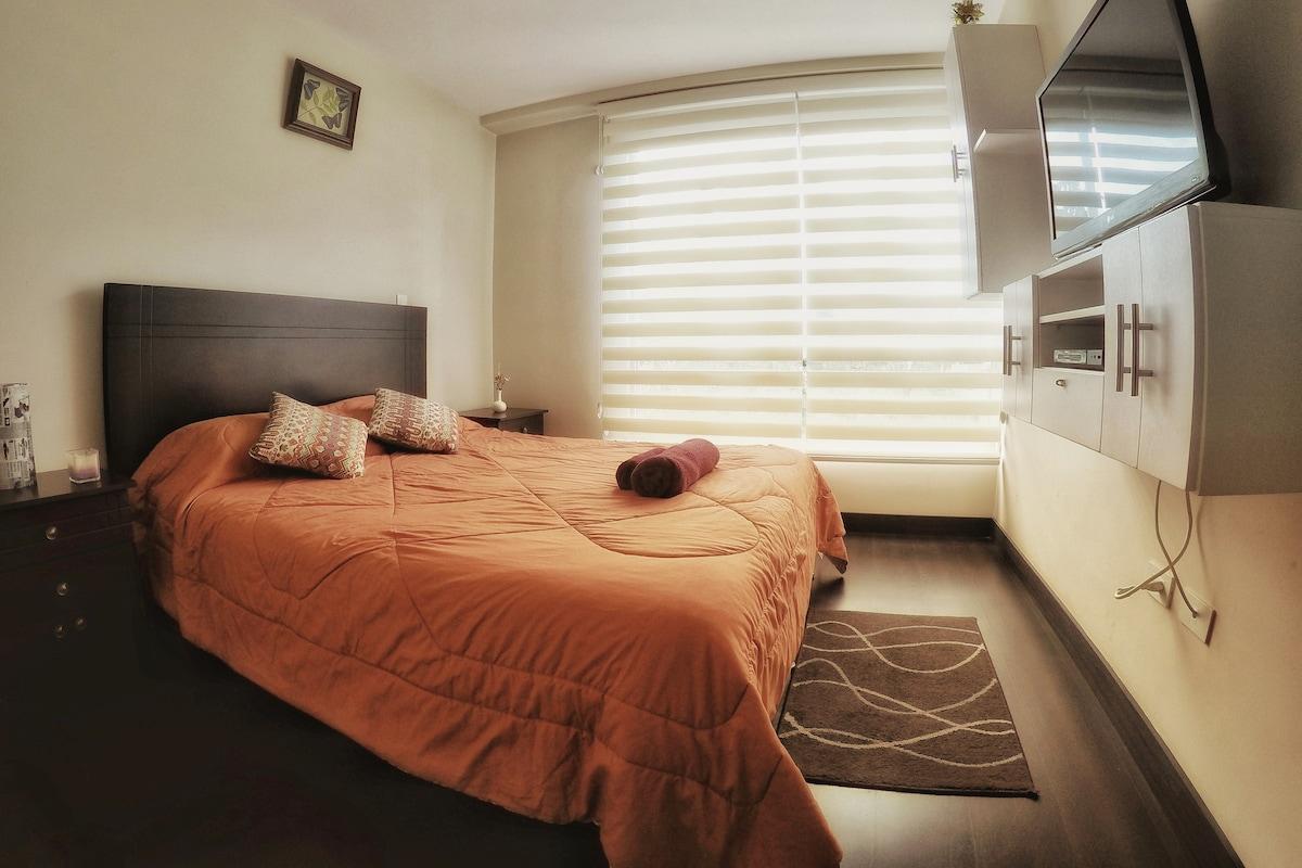Cozy & Modern Apartment+GYM@Carrion St./LaMariscal