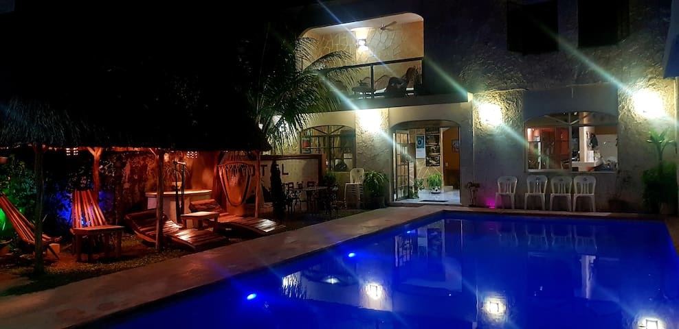Hotel Boutique Mayahau Cobá, corazón del pueblo.