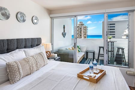Ocean View Studio in Waikiki