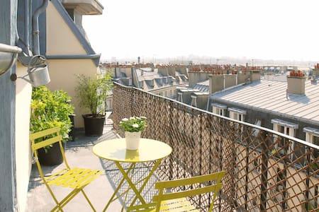 Splendid terrace magnificent view