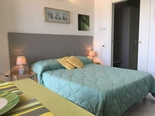 Double bed room overlooking  Lake Maggiore