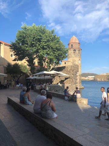 Appartement Unique! 3 pièces au coeur de Collioure