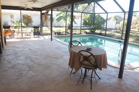Pool Home - North Fort Myers, FL
