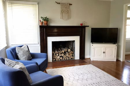 The Red Brick Home—15 minutes from Downtown