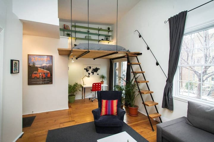 Montreal DREAMLOFT on the PLATEAU🤩