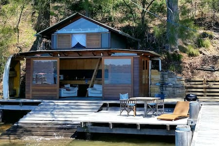 The most beautiful boatshed on Pittwater.