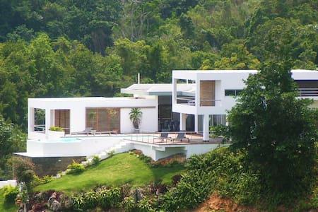⚡Unique Hilltop Eco Villa, Las Terrenas w/cleaner⚡