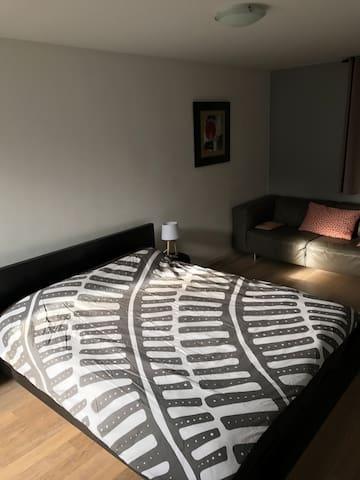 Chambre indépendante dans villa individuelle