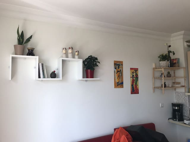 Cozy flat in the heart of town, 6 mins from metro
