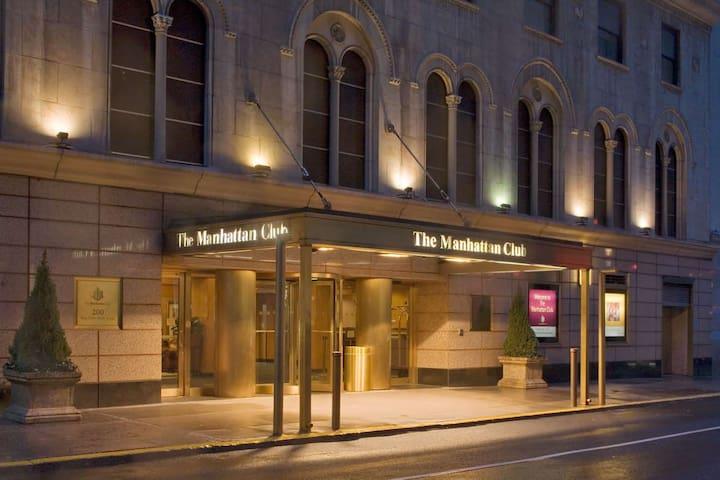 Discount at Manhattan Club NYC,  June 16-19, 2019