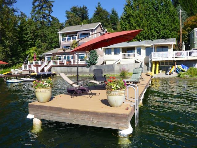 Cottage on Sammamish - Lake House