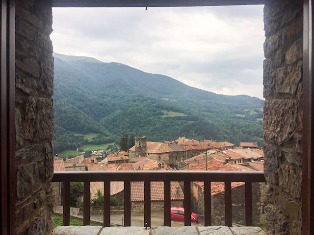 Casa rural con vistas espléndidas