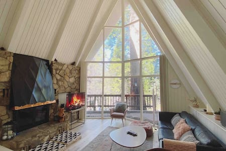 A-Frame In the Forest: Close to lake and village