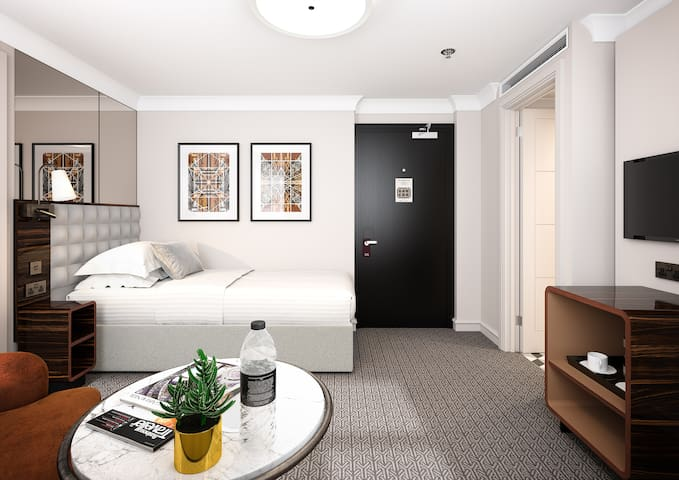 Superior Single Room at Strand Palace, Covent Garden