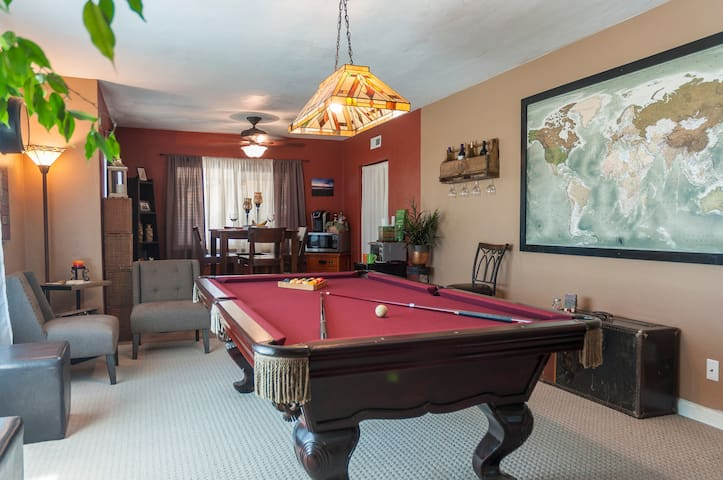 Game Room Guest Suite-Cont. Bkfst/Netflix Included
