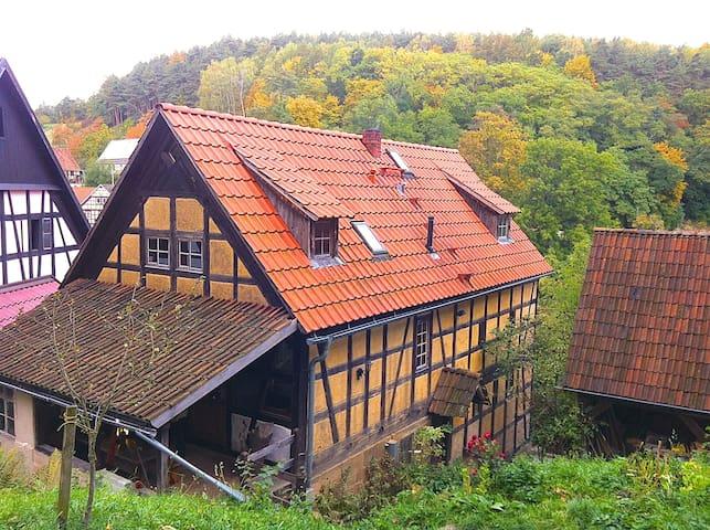 Uhlstädt-Kirchhasel的民宿