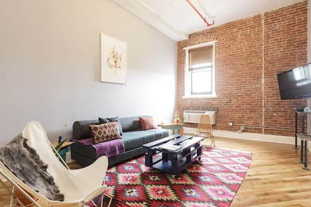 1BR Loft - Cleaning CDC guidelines implemented