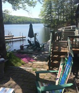 Seasonal lake side cottage