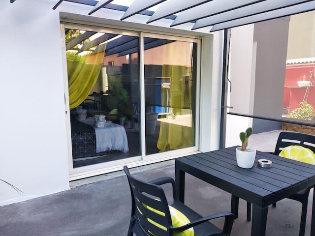 Sainte-Marie la mer (66): Suite privée 30 m2