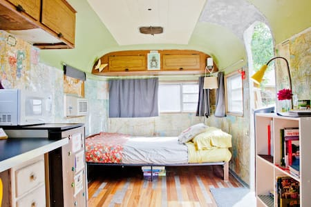 Vintage Airstream in East Austin, Texas