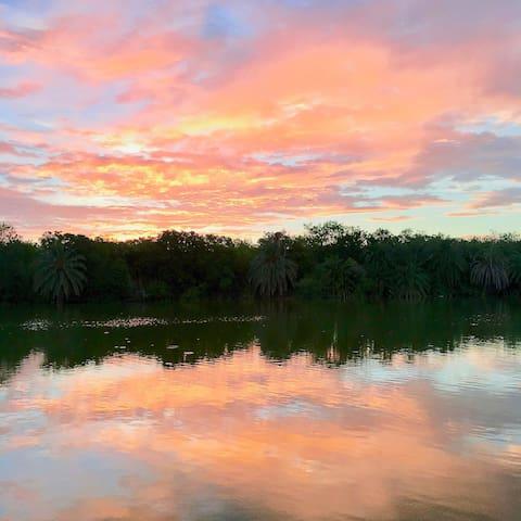 Progreso Lakes的民宿