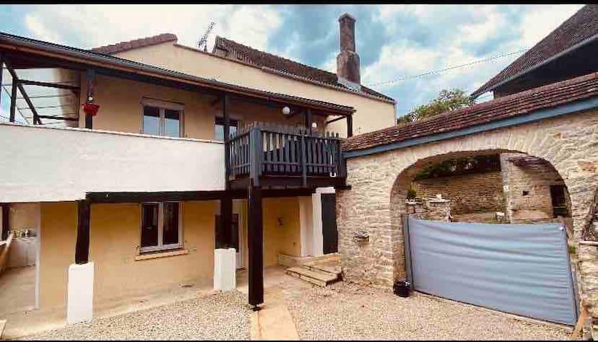 Courcelles-lès-Montbard的民宿